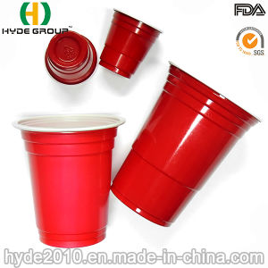 2.5oz, 12oz, 16oz Disposable Plastic Red Solo Cup, Shoot Cup pictures & photos