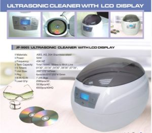 750ml Mini Electric Plastic Ultrasonic Cleaner for CD Record Disks Washing (JP-900S) pictures & photos