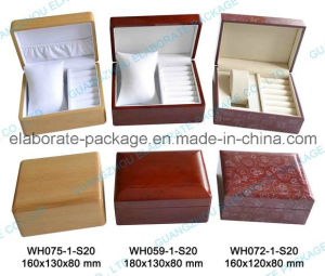 Double Jewellry Watch Box Wooden Packing Box pictures & photos