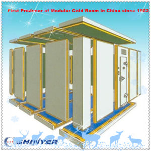 Modular Cold Storage Room with Polyurethane PU Sandwich Panels pictures & photos