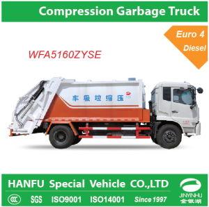 Big Compression Garbage Truck