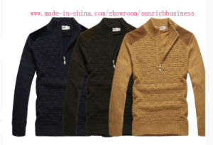Men′s Knitted Winter Sweater (MY017) pictures & photos