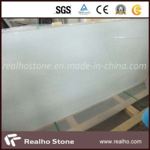 Popular Artificial White Quartz Stone for Countertop/Flooring