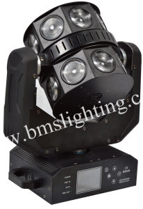 16PCS RGBW LED Moving Head Double Flying Light/New Stage Effect for Disco, Bar, KTV