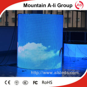 HD Full Color P10 DIP Cylindrical LED Display Screen