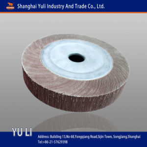 Abrasive Flap Wheel with/Withour Shaft/Handle (001651)