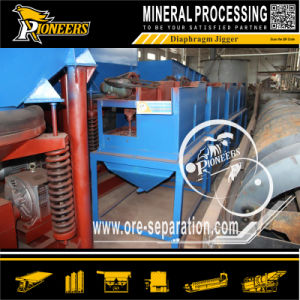 Gold Mineral Iron Ore Tin Mining Diaphragm Jig Beneficiation Plant