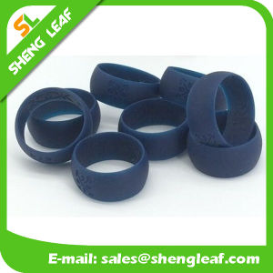 Personalized Fashion Advertising Colorful Silicone Finger Rings (SLF-SR014) pictures & photos