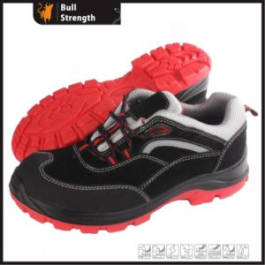 PU/TPU Mixture Outsole Suede Leather Low Cut Safety Shoe (SN5432) pictures & photos