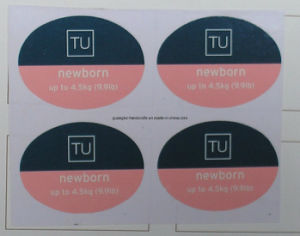 Lovely Good Quality Custom Design Clear Label Sticker pictures & photos