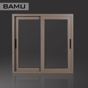 Double Glazing Thermal Break Aluminum Sliding Window