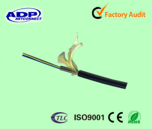 1-4 Fiber Single-Mode Single-Armored Multi-Core Tight Buffer Indoor Cable pictures & photos