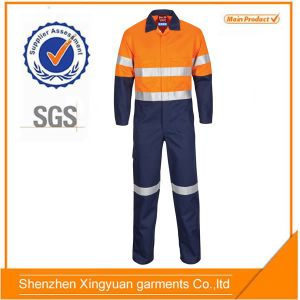 Red Aramid High Performance Flame Retardant Coverall
