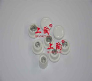 Glazed Steatite Ceramic Cap (alumina porcelain cap) pictures & photos