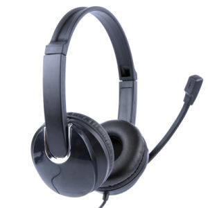 Good Quality USB Plug Headset for Computer (RH-U41-020)