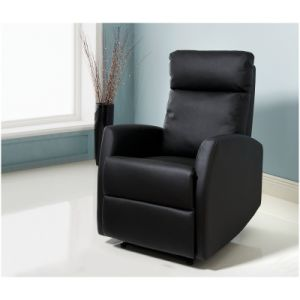 Black Color Fashion Office Leather Sofa Verona Recliner Chair (FS-K563) pictures & photos