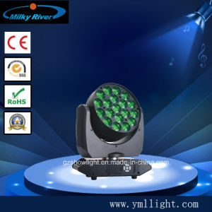 Macro Colour System 19PCS 10W 4in1 RGBW LED Moving Head Stage Light pictures & photos