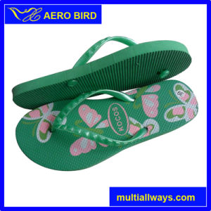 Fashion Women EVA Slippers with Two Layer Sole pictures & photos