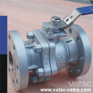 Flanged Split Floating Ball Valve pictures & photos