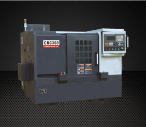 CNC300-Y Hard Rail Gang Type Tool Slant Bed Lathe Machine pictures & photos