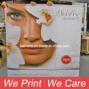 Custom Indoor & Outdoor Dye-Sublimation Printing Polyester Fabric Poly Banners pictures & photos