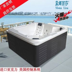 Monalisa Hot Selling Jacuzzi Outdoor SPA (M-3363) pictures & photos