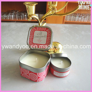 Wild Pomegranate Natural Scented Soy Tin Candle