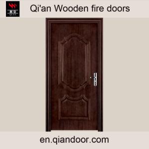 Black Walnut Office Fire Door pictures & photos