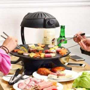 3D Infrared Smokeless Barbeque Grill (YY-68B)