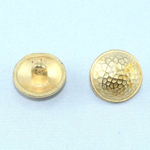 Golden Finish Zinc Alloy Metal Shank Sew on Button pictures & photos