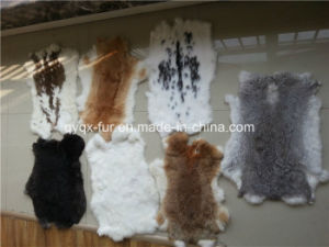 2015 Hot Selling Really Rabbit Fur Skin for Home Decoration