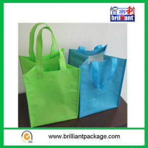 Cheap Reusable Fashion Non Woven Bottle Bags pictures & photos