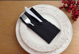 Napkin for Knife and Fork