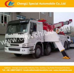 20FT, 40FT Self-Loader Truck Trailer Unloading Container Crane Trailer pictures & photos