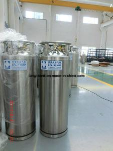 Good Quality Cryogenic LNG Liquid Oxygen Nitrogen Argon Insulation Dewar Cylinder pictures & photos