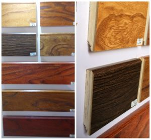 5cm Height Multi-Solid Wood Wall Skirting Board at Painted Finish pictures & photos