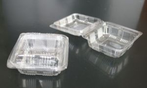 Wholesale Custom Disposable Fast Food Box for market (plastic tray) pictures & photos