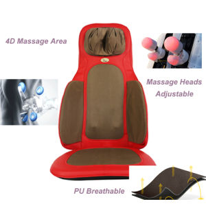 Massage Cushion Tapping Shiatsu Kneading Air Pressure Body Massager pictures & photos