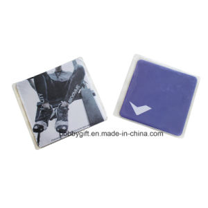 Customized Square Cotton Paper Mat Cup Coaster pictures & photos
