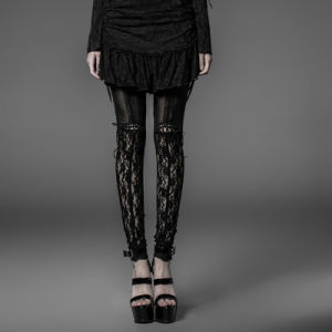 Punk Rave Top Fashion Gothic Tight Knit Legging Trousers (K-177) pictures & photos