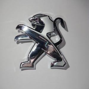 3D Chrome Acrylic LED Car Logo pictures & photos