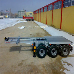3axle; 2axle 1axle Customizable Skeleton Semi Trailer