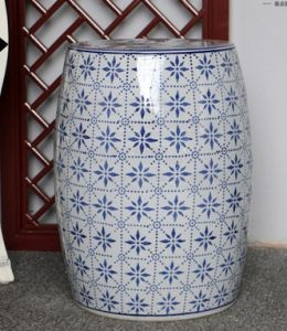 Ceramic Drum Stool (LS-195) pictures & photos