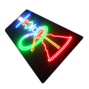 Advertising Acrylic LED Neon Smoke Sign