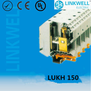 Feed Through Power Distribution DIN Rail Terminal Block (LUKH150) pictures & photos