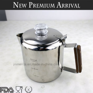 Stainless Steel Stovetop Percolator Classic Espresso Maker pictures & photos