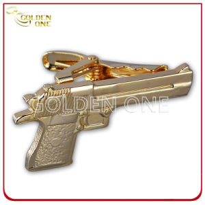 Novel Design Custom Gold Plated Metal Tie Clip pictures & photos
