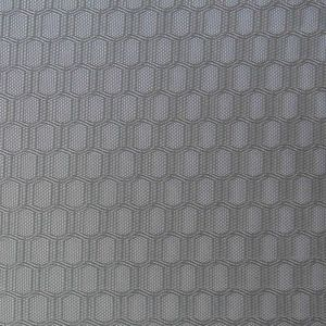 Double Line Hexagon Oxford Polyester Fabric pictures & photos