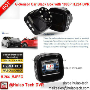 Cheap Huiao Tech Car Camcorder DVR with G-Sensor, 5.0mega CMOS Car Camera DVR-1506 pictures & photos