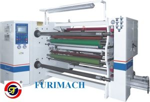 Double-Shaft Central Surface Optical Film Slitting and Rewinding Machine pictures & photos